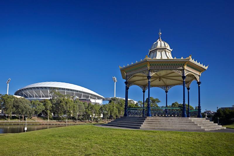 adelaide architects  heritage architecture  elder park rotunda