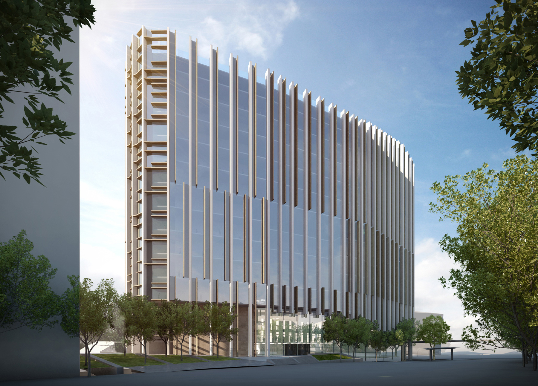 Unisa health innovation building hib for Architecture firms adelaide